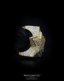 4.53 CT. Exclusive Diamond Men's Ring in 10K Gold