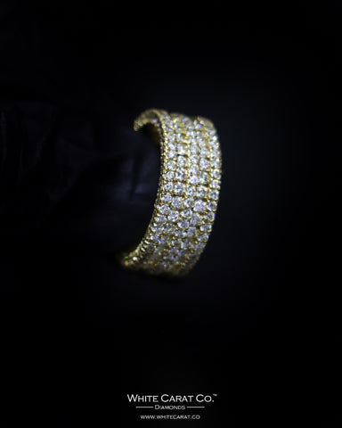 4.08 CT. Exclusive Diamond Men's Ring in 10K Gold