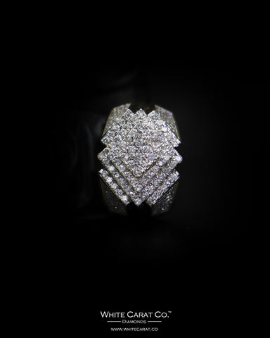 1.46 CT. Exclusive Diamond Men's Ring in 10K Gold