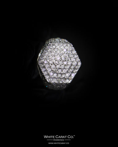 3.47 CT. Exclusive Diamond Men's Ring in 10K Gold