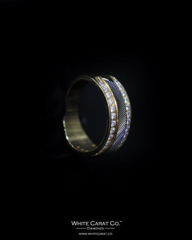 0.97 CT. Exclusive Diamond Men's Ring in 14K Gold
