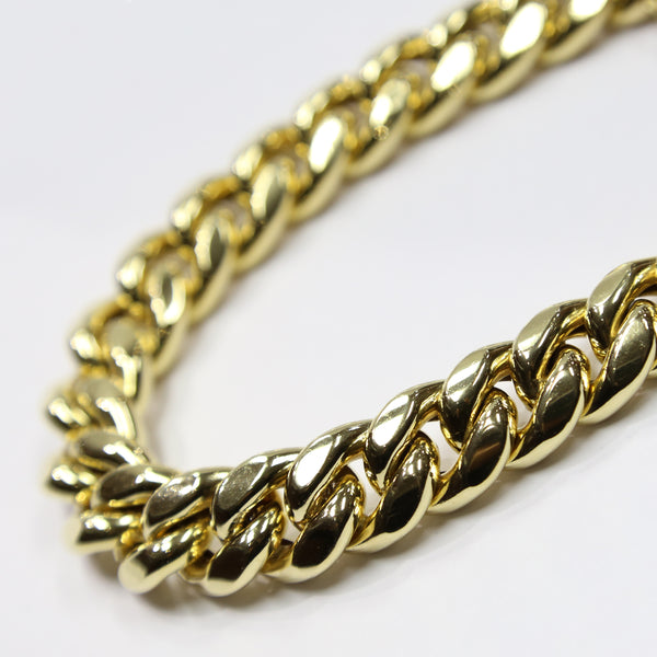 10K Gold Thick Miami Cuban Bracelet