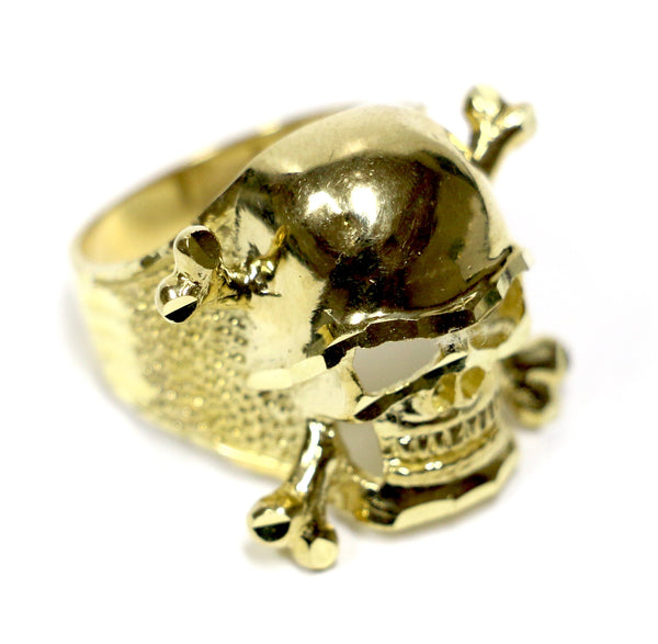Skull Ring in 10K Gold