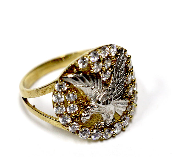 Eagle Ring in 10K Gold