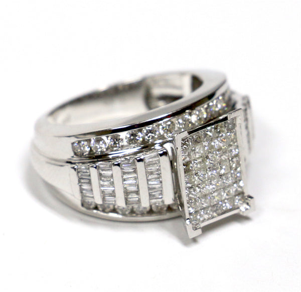 2.00 CT. Diamond Engagement Ring in 10K White Gold