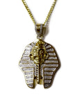 0.55 CT. Pharoah Diamond Pendant in 10K Yellow Gold
