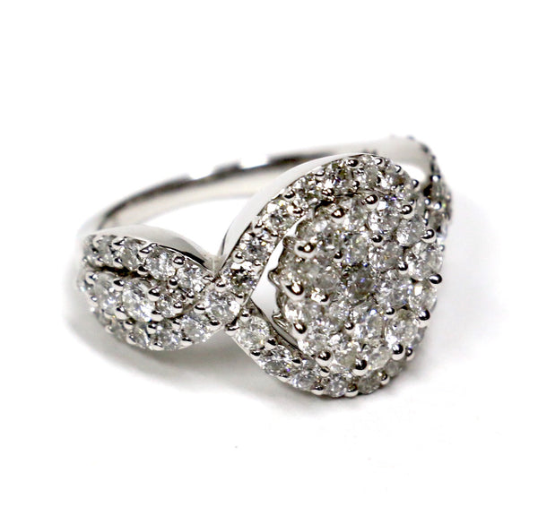 2.75 CT. Diamond Engagement Ring in 14K White Gold