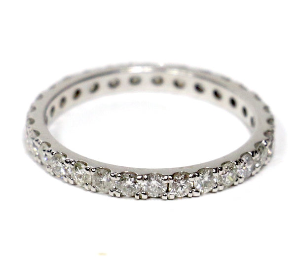 1.00 CT. Diamond Eternity Band in 14K White Gold