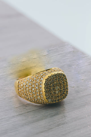3.02CT. Diamond Ring in 10K Yellow Gold