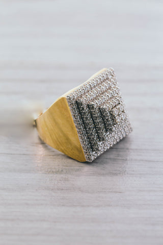 2.50 CT. Diamond Ring in 10K Yellow Gold