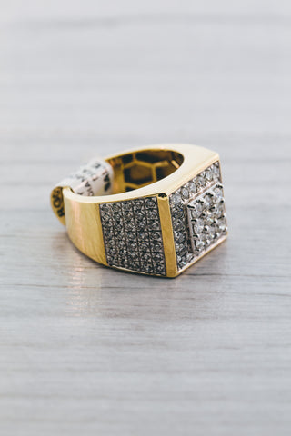 3.00 CT. Diamond Ring in 10K Yellow Gold