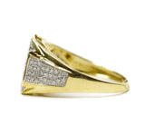 0.25 CT. Diamond Ring in 10K Yellow Gold