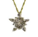 0.80 CT. Twinkling Star Diamond Pendant in 10K Gold (Chain Included)