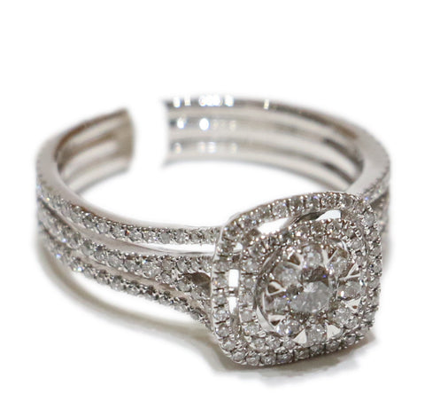 1.00 CT. Diamond Engagement Ring in 14K White Gold
