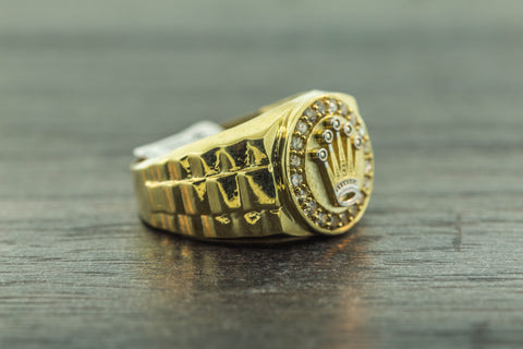 Crown Ring in 10K Gold