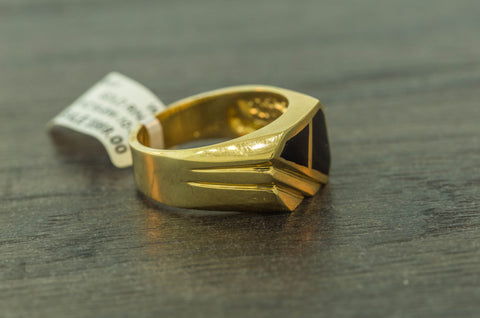 Onix Ring in 10K Gold