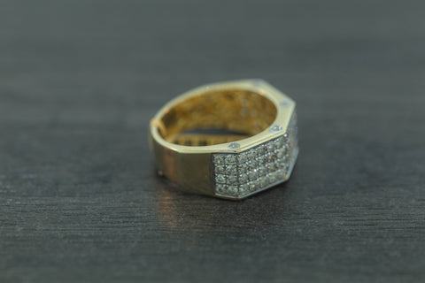 2.00 CT. Diamond Ring in 10K Yellow Gold