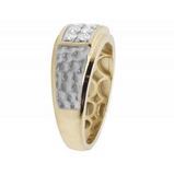 0.50 CT. Diamond Wedding Ring in 10K Yellow Gold