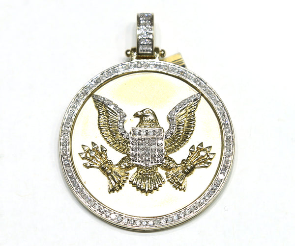 0.75 CT. Eagle Diamond Pendant in 10K Gold