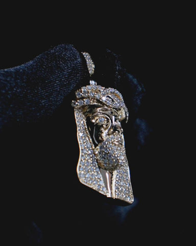 "2.35 CT. ""Jesus Head"" Pendant in 14K Gold*"