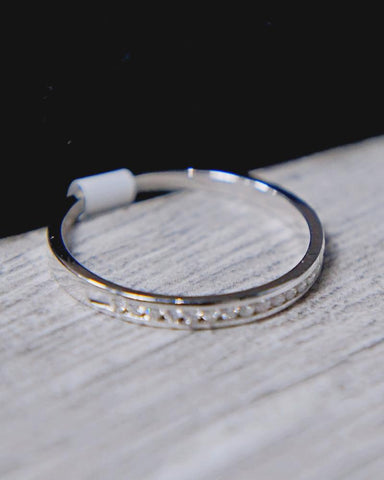 0.10 CT. Diamond Band in 14K Gold*