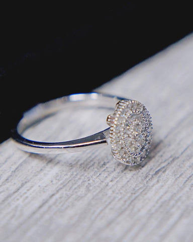 0.24 CT. Diamond Engagement Ring in 10K Gold*