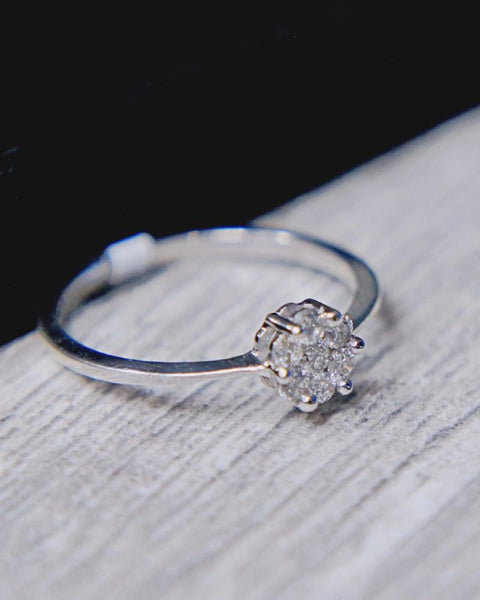 0.25 CT. Diamond Engagement Ring in 14K Gold*
