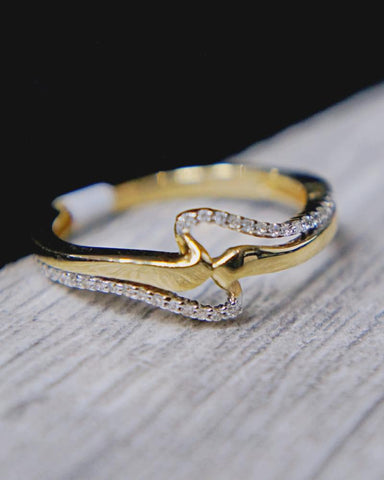 Copy of 0.10 CT. Diamond Engagement Ring in 14K Gold*
