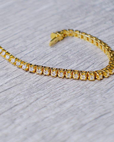 2.10 CT. Diamond Bracelet (8 inches) in 14K Gold*