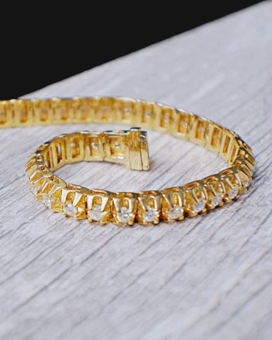 4.45 CT. Diamond Tennis Bracelet in 14K Gold*