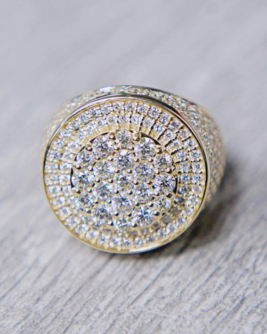 Approx. 3.00 CT. Exclusive Diamond Men's Ring in 14K Gold