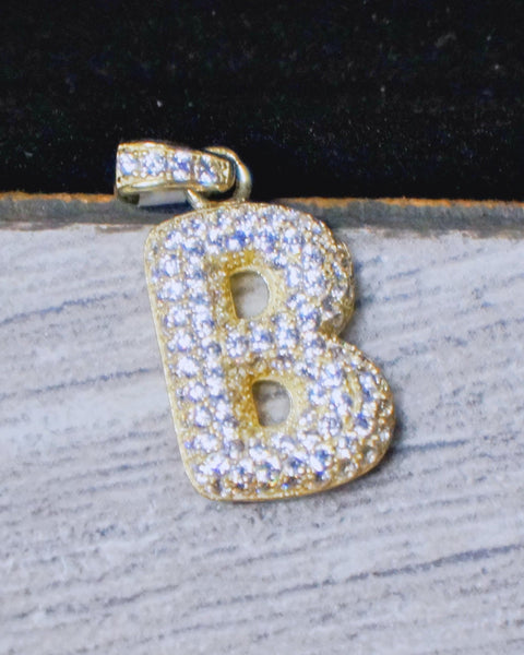 """Letter B"" Pendant in 10K Gold*"
