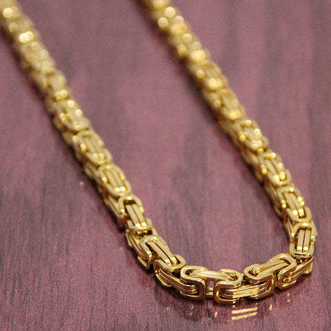 10K Byzantine Gold Chain (32 inches)
