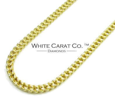 10K Gold Diamond-Cut Franco Chain - 3.0 mm