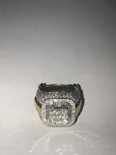 3.25 CT. Stacked Diamond Ring in Gold