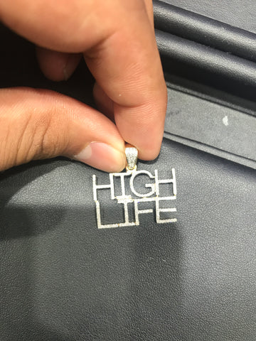 0.40 CT. High life Diamond Pendant in 10K Gold