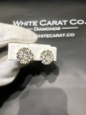 3.00 CT. Diamond Studs in 14K Gold