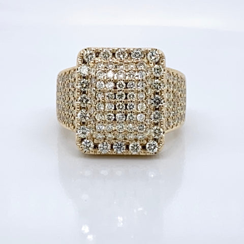 4.5CT Diamond Ring in 10K Yellow Gold INSTAGRAM EXCLUSIVE SALE