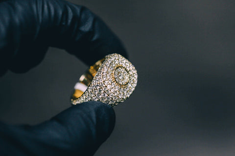 5.10 CT. Diamond Ring in 10K Gold