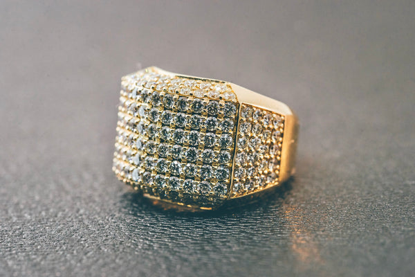 5.00 CT. VS2 Diamond Ring in 14K Solid Gold