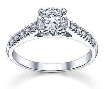 1.00 CT. Solitaire Diamond Ring in White Gold