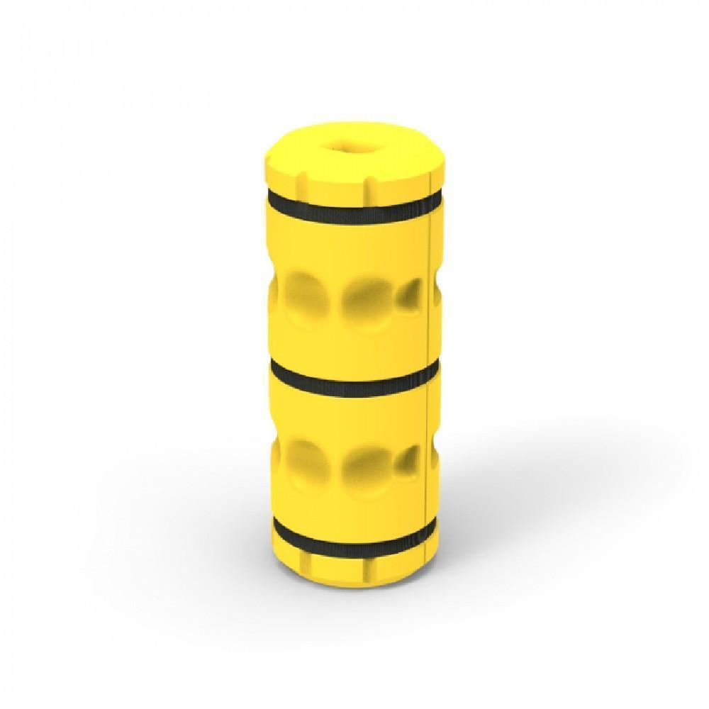 commercial yellow post barrier cushion