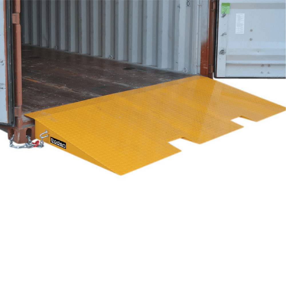 forklift container loading ramps from ramp champ