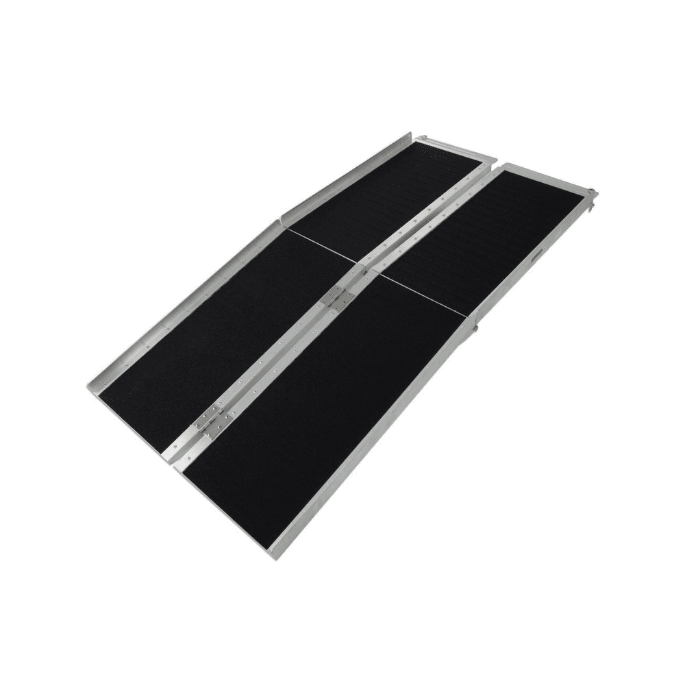 Heeve multi-fold super-grip mobility wheelchair ramp