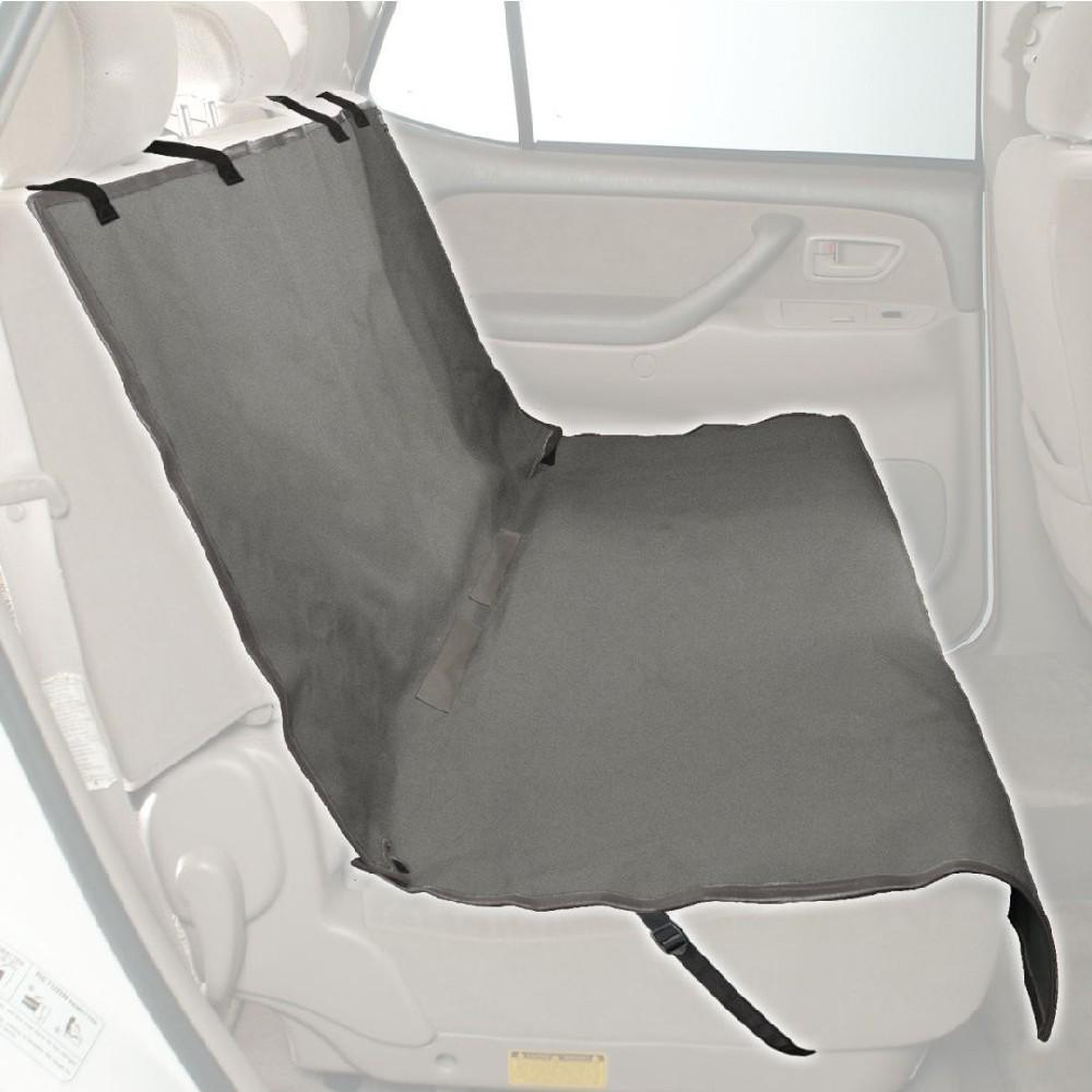 solvit bench seat cover on rear seat of car