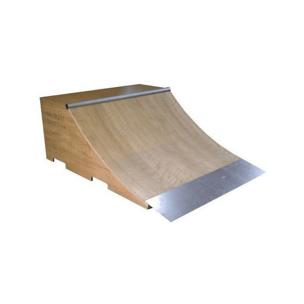 Skateboard quarter pipe from WA Skate Ramps at Ramp Champ