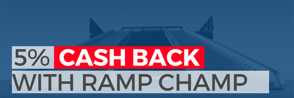 5% cash back with ramp champ
