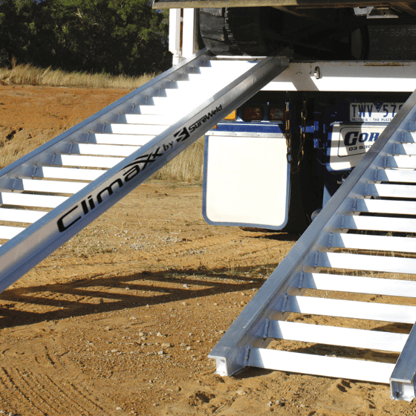 Sureweld construction machinery loading ramps