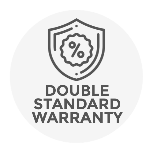 double manufacturers warranty icon