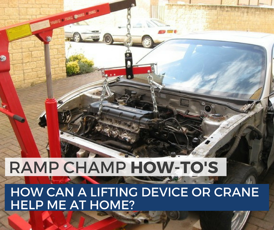 How Can A Lifting Device Or Crane Help Me At Home- blog post image